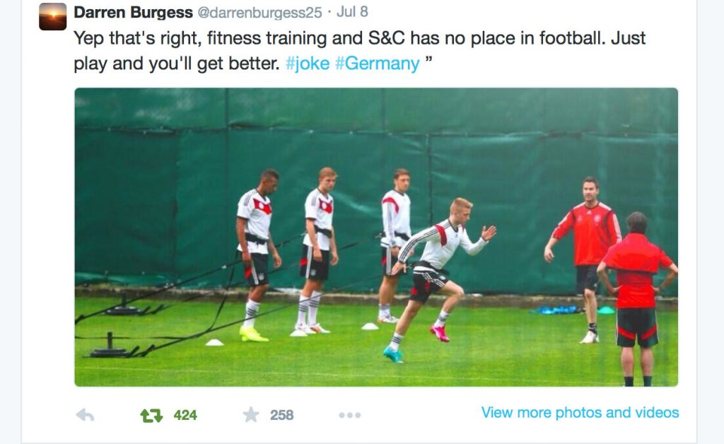 SoccerTrainingTweet