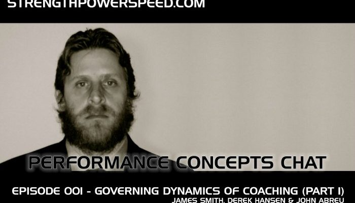 SPS Performance Concepts Chat – Episode 009: James Smith Part 1