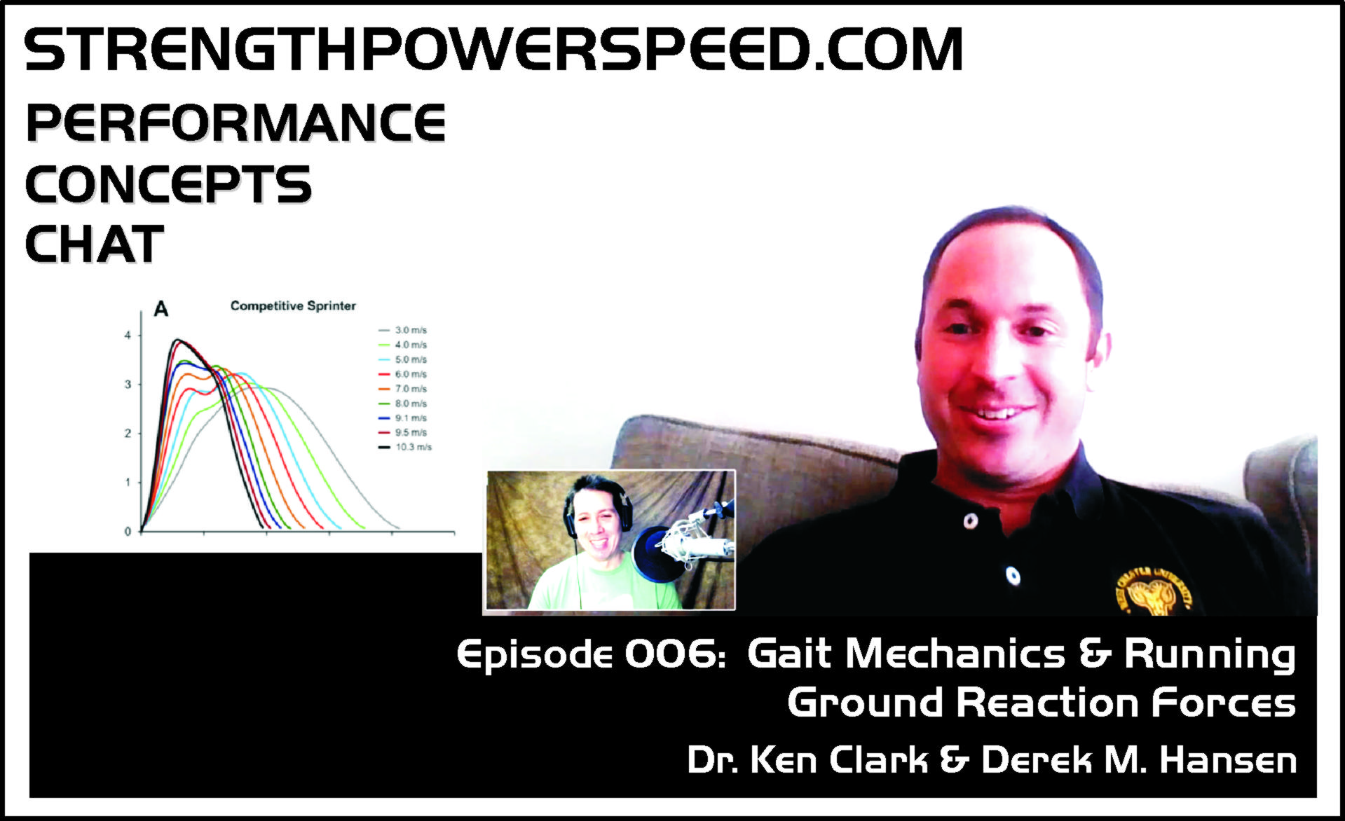 SPS Performance Concepts Chat – Episode 006:  Dr. Ken Clark – Gait Mechanics and Running Ground Reaction Forces