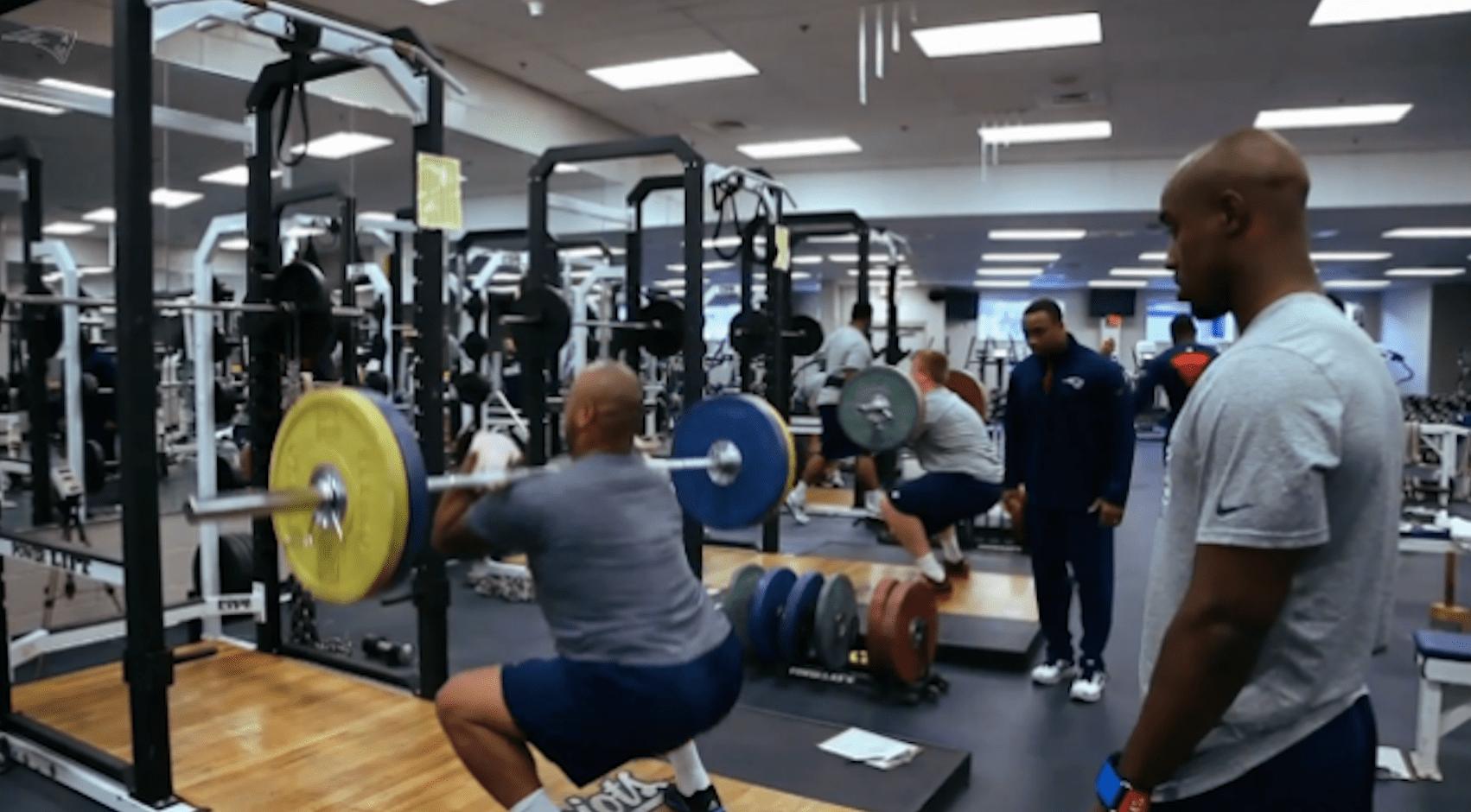 strength front squat programme